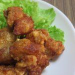 鶏むね肉がジューシーなから揚げに変身!粉の割合で料理名が変わる?