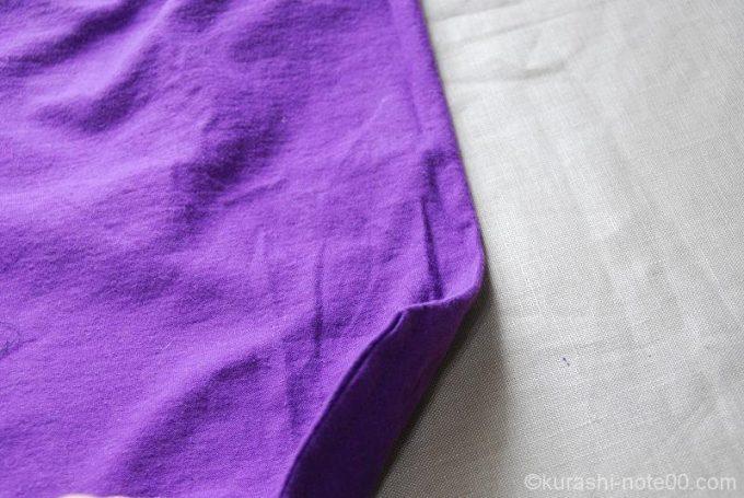 袋縫い表からみたところ