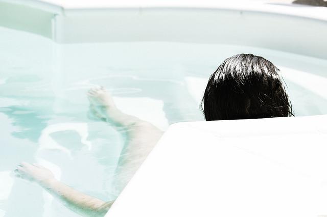 リラックスして入浴