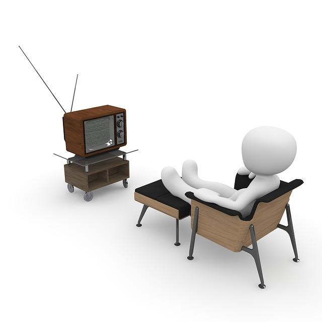 テレビのレイアウト