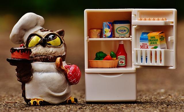 冷蔵庫をチェック