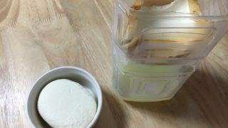 水切りヨーグルトがまるでクリームチーズ。一晩おくだけの簡単な作り方