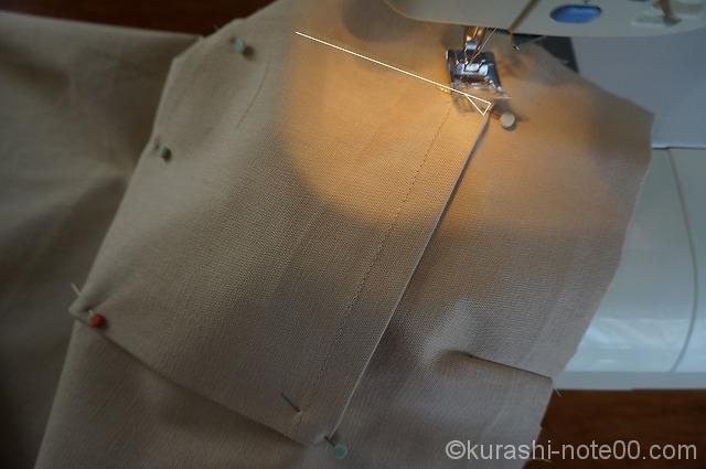 ポケットの縫い方