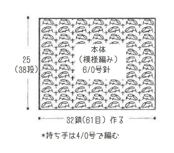 編み図拡大
