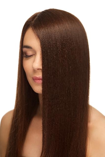 きれいな髪