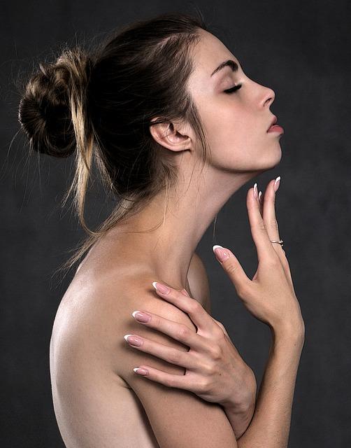 美しい肌イメージ