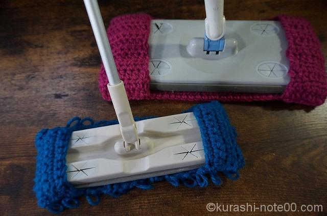 2つの床掃除シート