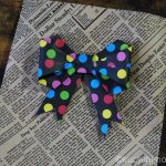 立体リボンを折り紙で作ろう。簡単にできてすごくかわいい