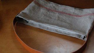 リネンのサンタナハンドバッグの作り方