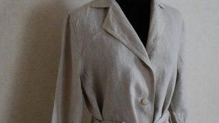 ソーイング大人服|リネンで縫うスプリングコート