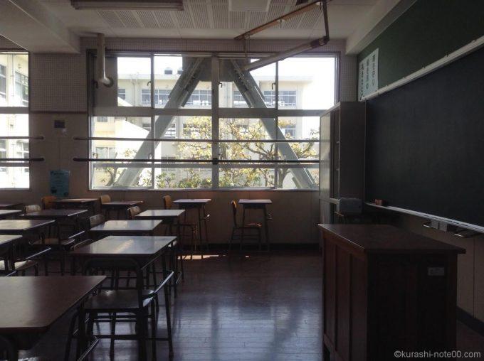 耐震補強した学校