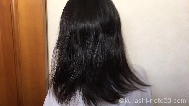 まとまりのない髪