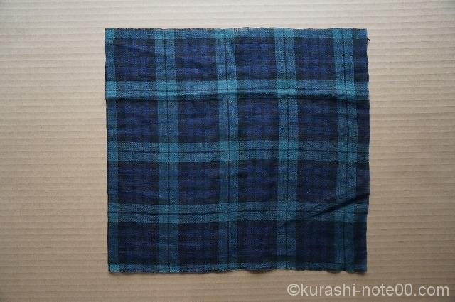正方形の布