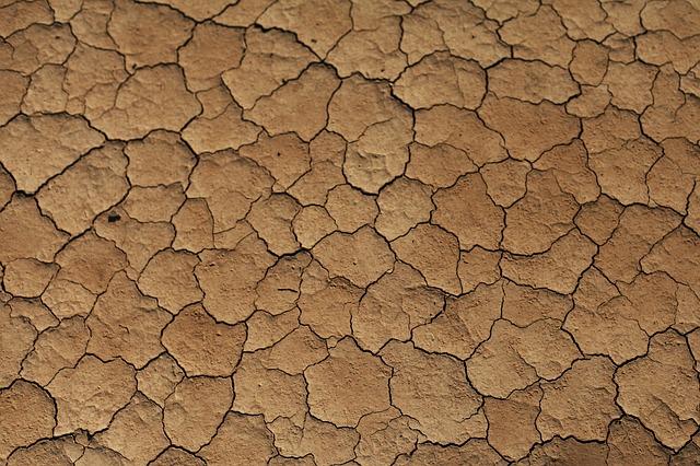 砂漠乾いたイメージ