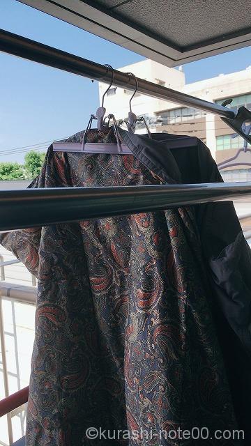 布団の干し方