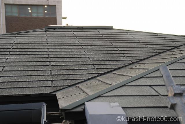 15年経過した屋根