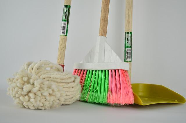 掃除道具の収納方法!キレイに見せる収納テクニック