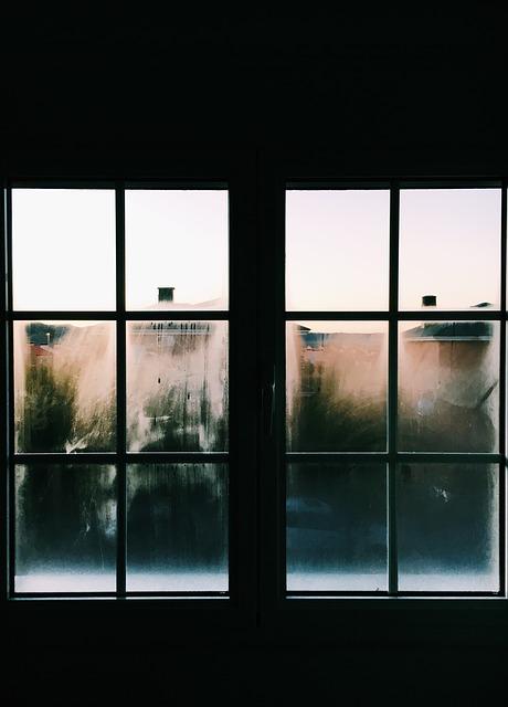 窓からみた景色