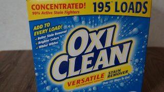 オキシクリーンなら浴室の頑固な汚れも楽に取れてお掃除が快適