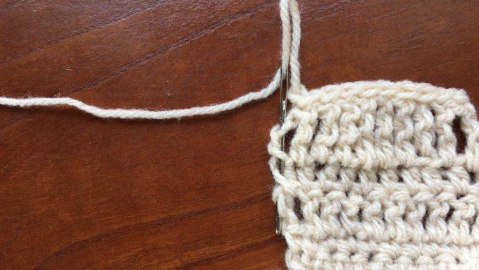 糸の始末ガイダンス