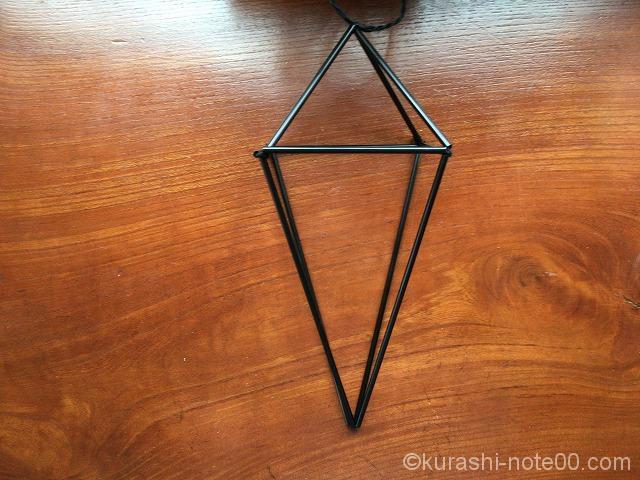 ダイヤ形のヒンメリ