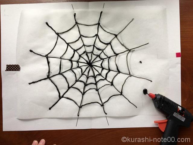 クルーガンで蜘蛛の巣をなぞる