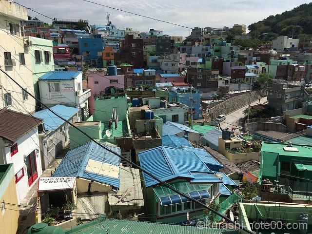 甘川文化村景色