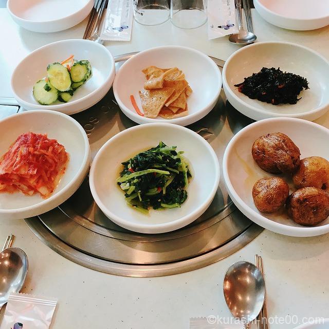 韓国の前菜