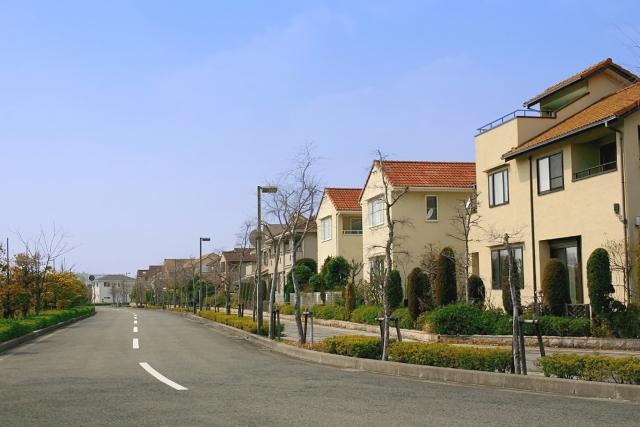 環境のいい住宅地