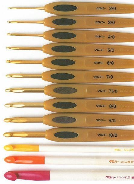 かぎ針の種類