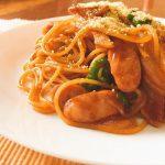 昔懐かしい味スパゲッティーナポリタン。子どもの頃に食べた味を再現!