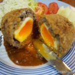 「ごちそうさん」の半熟卵のスコッチエッグを作ろう。レトロな洋食屋さんのレシピ
