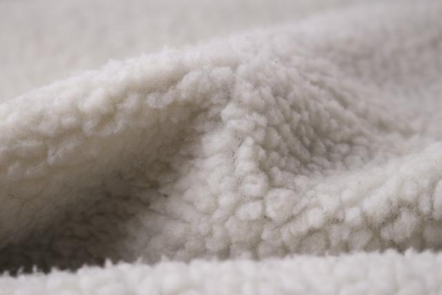 ボワボワ毛布