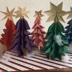 折り紙で作るクリスマスツリー|今年はリーズナブルにディスプレイ
