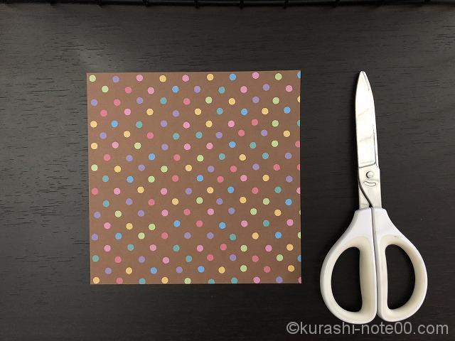 折り紙とはさみ