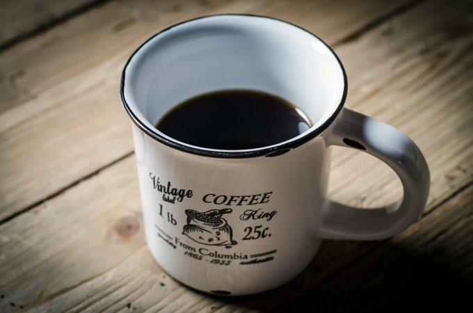 暖かいコーヒーのイメージ