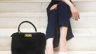 フェンディのバッグ『ピーカブー』が似合うキム・ヒソンが素敵!
