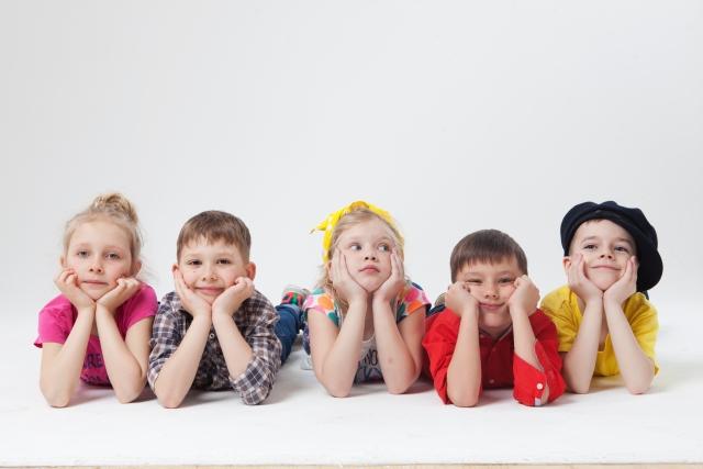 子どもの集合写真