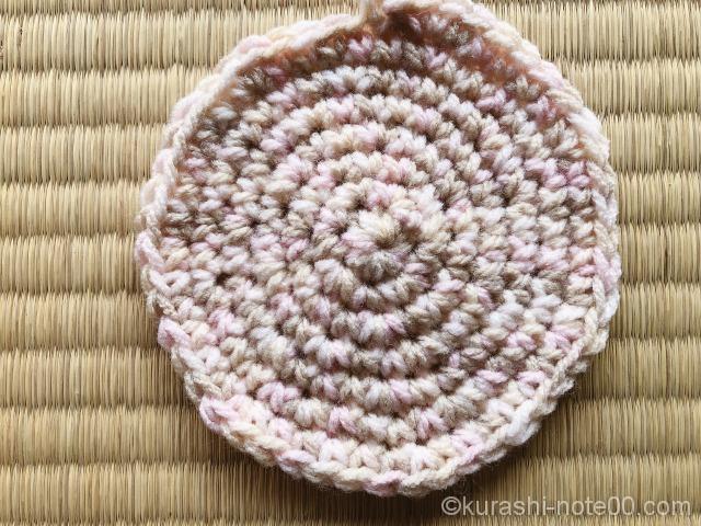 ぐるぐる編み