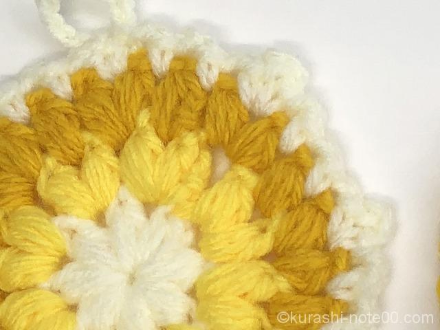 編み図通り