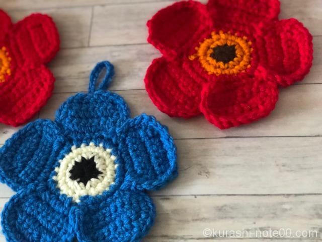 いちごのアクリルたわしの作り方 編み物 編み物・手芸・ソーイング ハンドメイド、手作り作品の作り方ならアトリエ