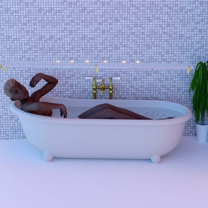 Bath, Candle
