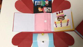 開き続けるカードの作り方|NHK「沼ハマ」で紹介したサプライズボックス