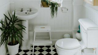 キラッと光るトイレのアイデア|自力でやれるDIYでオシャレ空間に
