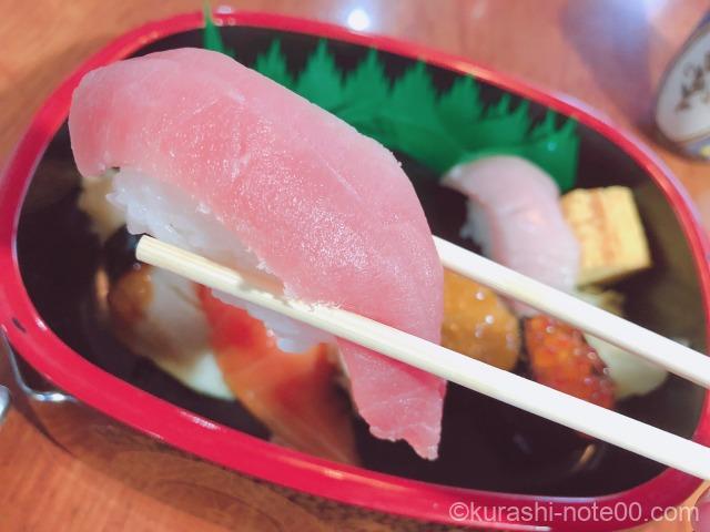 トロのお寿司
