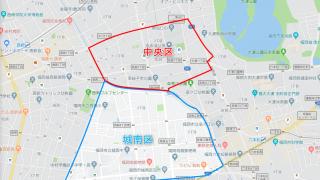 福岡市「鳥飼」は中央区と城南区にまたがる地域です