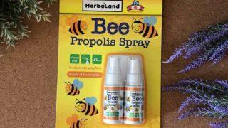 【コストコ】Beeプロポリススプレーは甘い?喉がイガっとする前にシュシュ!