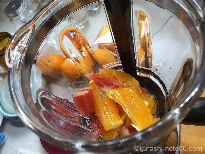 果物を投入
