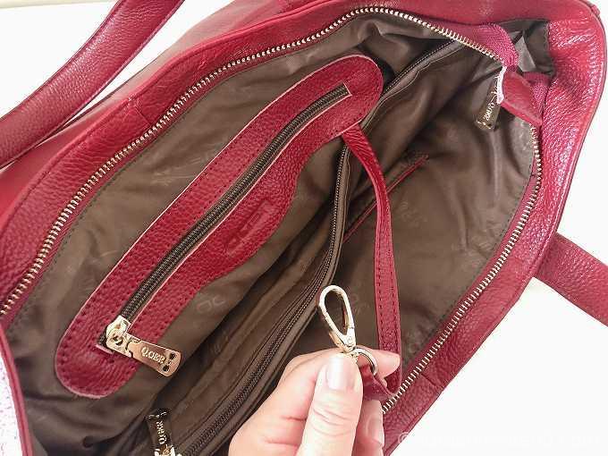 フック内臓のバッグ