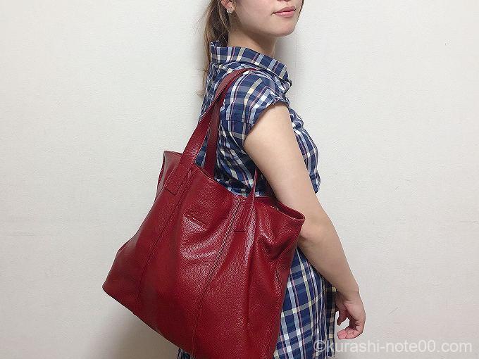 Baginningの通勤バッグ